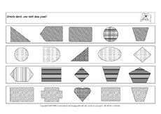 Muster erkennen in der Grundschule - Arbeitsblätter-Visuelle ...