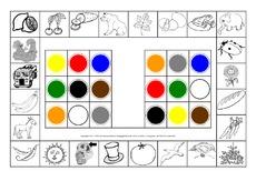 Farben (Arbeitsblatt) in der Grundschule - Konzentration und ...