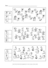 Arbeitsblatt in der Grundschule - Mathematik - Förderung ...