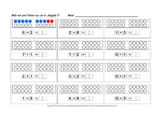 arbeitsbl tter zahlenraum 20 mathematik f rderung schuleingangsphase material klasse 1. Black Bedroom Furniture Sets. Home Design Ideas