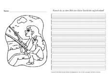 Arbeitsblatt in der Grundschule - AB-Freies-Schreiben ...