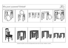 arbeitsbl tter raumlage konzentration und wahrnehmung f rderung schuleingangsphase. Black Bedroom Furniture Sets. Home Design Ideas
