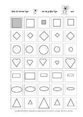 arbeitsbl tter visuelle wahrnehmung konzentration und wahrnehmung f rderung. Black Bedroom Furniture Sets. Home Design Ideas
