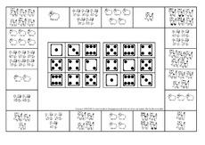 zuordnung w rfelbild 1 12 arbeitsbl tter mengenerfassung mathematik f rderung. Black Bedroom Furniture Sets. Home Design Ideas