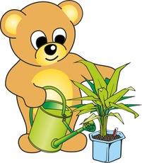 Teddy In Der Grundschule Teddy Farbig Illustrationen Material