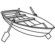 Ruderboot malvorlage  Ausmalbild in der Grundschule - Q-S - Nomengrafiken zum Ausmalen ...