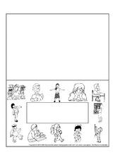 Namensschilder Organisation Impulsbilder Material Klasse 1