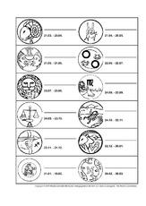 Tierkreiszeichen in der Grundschule - Kalender - Material Klasse 2 ...
