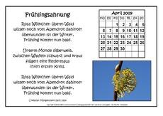 Gedichte grundschule mai