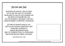 Klassische Gedichte In Der Grundschule Grundschulmaterialde