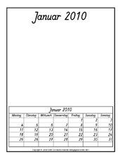 kalender blanko kalender. Black Bedroom Furniture Sets. Home Design Ideas