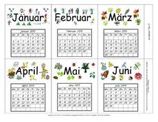 Kalender 2015 in der Grundschule - Kalender - Material Klasse 2 ...