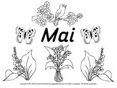 mai-ausmalbild-3 - ausmalbilder monate - die jahreszeiten