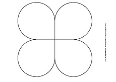 Grundformen Lapbook Vorlagen Blanko Click 11