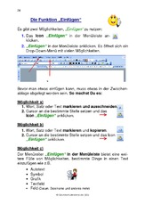 Arbeitsblatt in der Grundschule - Computerkurs - Material Klasse 3 ...