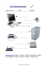 Textverarbeitung (Arbeitsblatt) in der Grundschule - Computerkurs ...