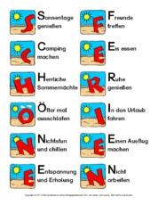 Akrostichon in der Grundschule - Akrostichon-Schöne-Ferien ...