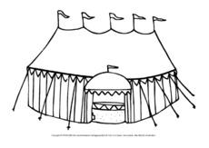 Arbeitsblatt In Der Grundschule Ausmalbilder Zirkus Werkstatt