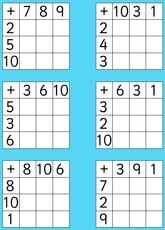 Zahlenrätsel Gehirnjogging und Matheaufgaben für die Schule
