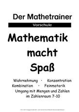 Lernheft in der Grundschule - Die Zahlen im ZR 10 - Arbeitsblätter ...