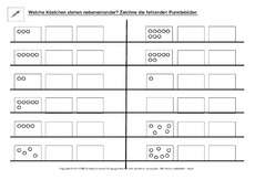 Zahlwort in der Grundschule - AB-Mengen - Mengen erfassen ...