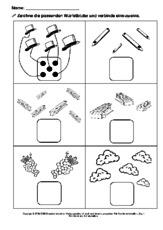 Zahlwort in der Grundschule - Mengen-Lernhefte - Mengen erfassen ...