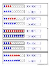 Lernkartei in der Grundschule - Mathe Klasse 1 - Grundschulmaterial.de