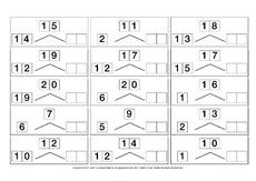 Zahlen-zerlegen-ZR-20-B - Zahlen zerlegen - Übungen im ZR bis 20 ...