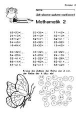 Arbeiten - Arbeitsblätter - Mathe Klasse 2 - Grundschulmaterial.de
