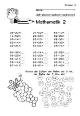Klassenarbeit in der Grundschule - Arbeiten - Arbeitsblätter - Mathe ...