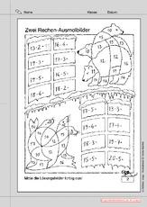 Lernpaket Rechnen Arbeitsblätter Mathe Klasse 2