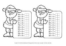 adventsrechnen arbeitsblatt in der grundschule weihnachtsrechnen arbeitsbl tter mathe. Black Bedroom Furniture Sets. Home Design Ideas