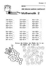 Klassenarbeit in der Grundschule  Arbeiten