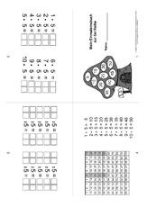 1x1 faltb cher einmaleins 1x1 mathe klasse 2. Black Bedroom Furniture Sets. Home Design Ideas