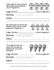 Multiplikation in der Grundschule - 1x1 Sachaufgaben - Einmaleins ...