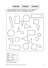 Geometrie für Einzelarbeit in der Grundschule - Geometrie - Mathe ...