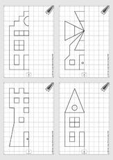 Spiegelbilder zeichnen 3 klasse