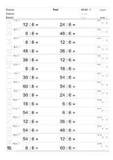 Einmaleins Tests - Lernstandserhebung - Mathe Klasse 2 ...
