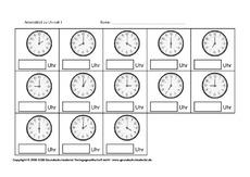 ab uhrzeiten seite 1 9 arbeitsbl tter uhrzeit mathe klasse 2. Black Bedroom Furniture Sets. Home Design Ideas