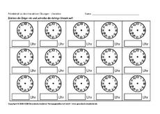ab uhrzeiten blanko 2 arbeitsbl tter uhrzeit mathe klasse 2. Black Bedroom Furniture Sets. Home Design Ideas