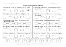 mathematische begrifffe arbeitsbl228tter mathe klasse 3
