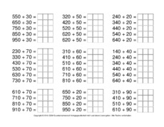ZR 1000-einfache Aufgaben in der Grundschule - Plus- und Minus ...