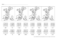 rechnen und malen f r einzelarbeit in der grundschule arbeitsbl tter mathe klasse 3. Black Bedroom Furniture Sets. Home Design Ideas