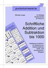 Arbeitsblatt in der Grundschule - schriftliche Addition ...