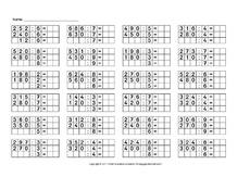 ab 39 s halbschriftliches dividieren schriftliche division schriftliche verfahren mathe. Black Bedroom Furniture Sets. Home Design Ideas