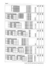 Zahldarstellung in der Grundschule - Arbeitsblätter - Erweiterung ...