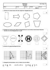 Figuren vergrößern - Geometrie - Mathe Klasse 3 - Grundschulmaterial.de