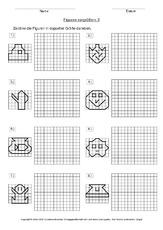fl che in der grundschule figuren vergr ern geometrie mathe klasse 3. Black Bedroom Furniture Sets. Home Design Ideas
