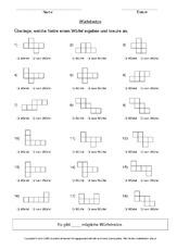 geometrie mathe klasse 3 grundschulmaterialde