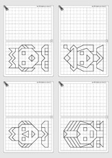 auge hand koordination in der grundschule geometrie mathe klasse 3. Black Bedroom Furniture Sets. Home Design Ideas